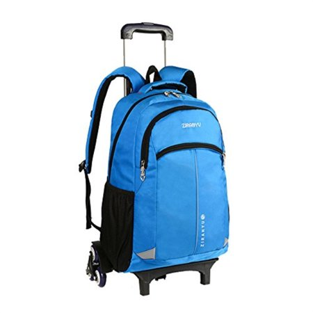 Fanci - Fanci Solid Color Waterproof Rolling Trolley School Backpack Book  Bag for Girls Boys Middle High School Wheeled Backpack Laptop - Walmart.com cd8cc10ec7aaa