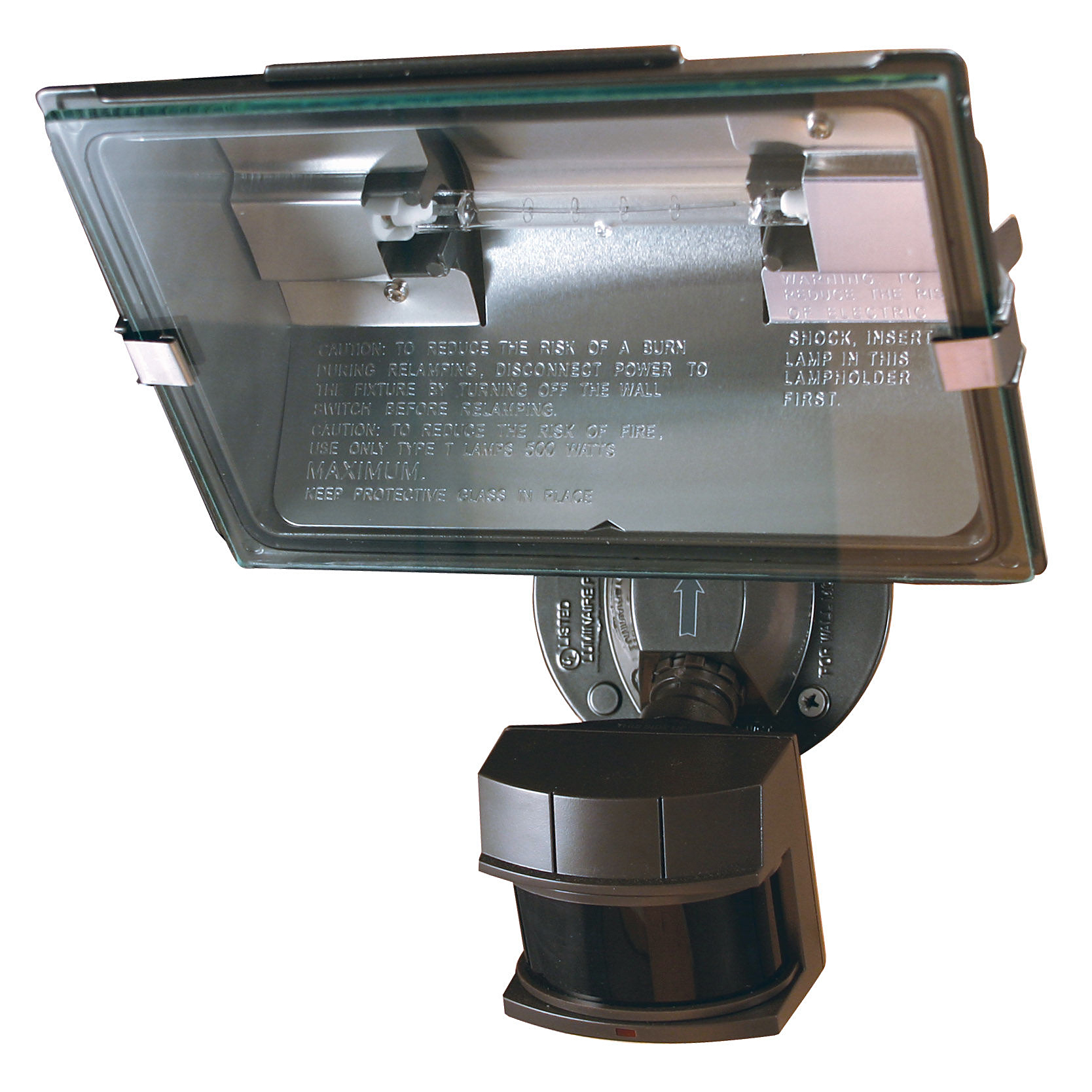 Heathco HZ-5311-BZ Bronze Dual Brite® Motion Sensor Quartz Security Light
