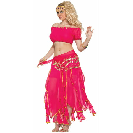 Sunrise Dancer Adult Costume - Adult Belly Dancer Costume