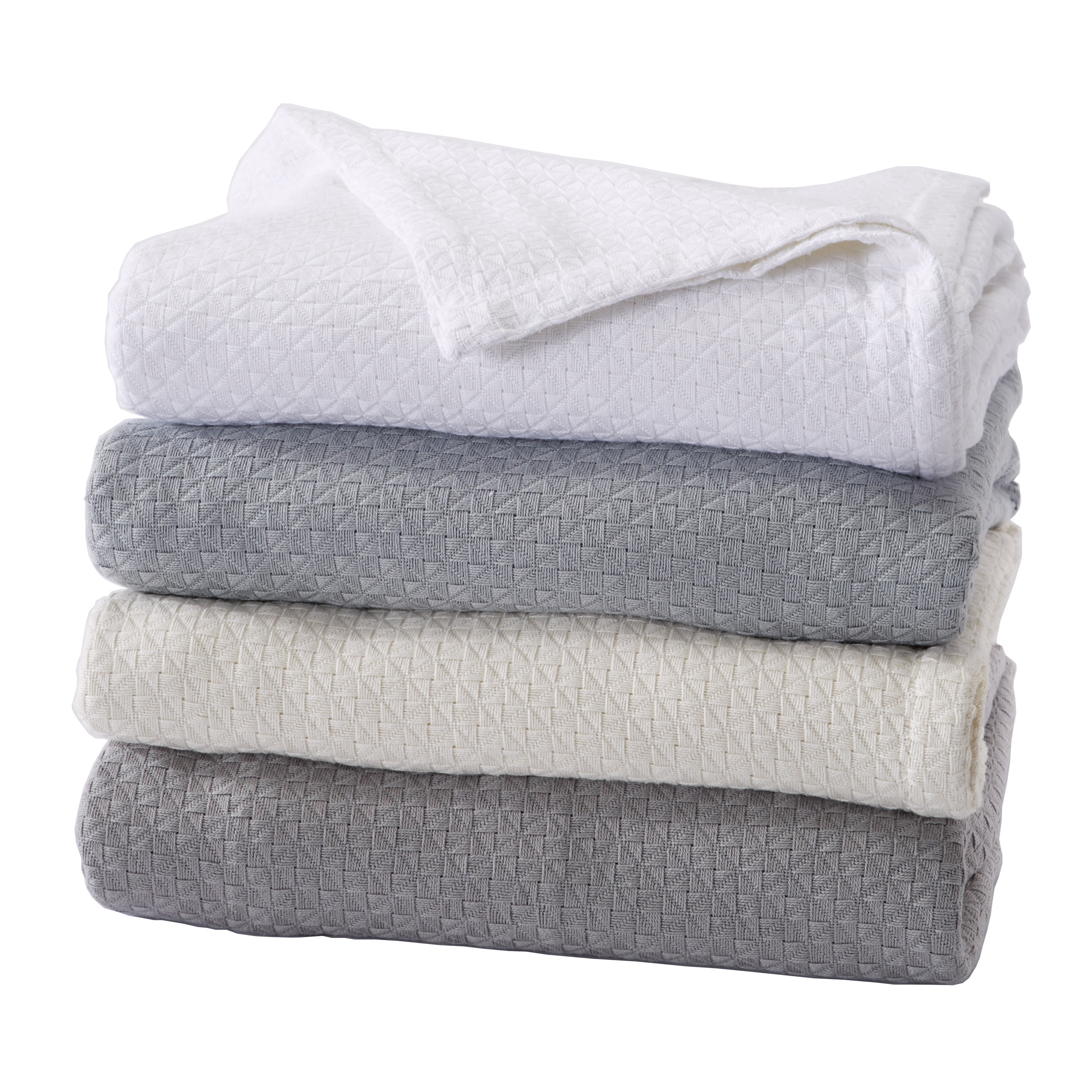 Bellante Collection Premium 100% Egyptian Cotton Bed Blanket By Home Fashion Designs
