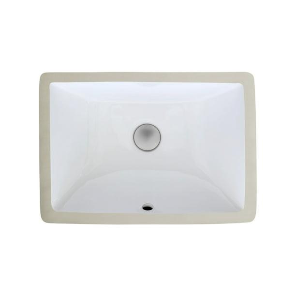 Zeek Zp 1611 Small Rectangular U M, Small Rectangle Bathroom Sink