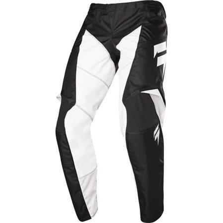 Shift Racing Wht Label Race Motocross Pants - Blk/Wht, All Sizes (Shift Motocross Pants)