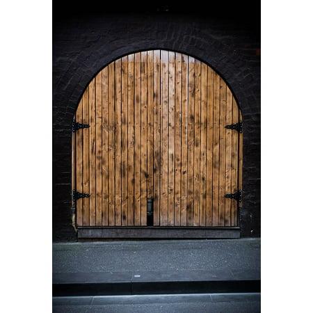 LAMINATED POSTER Entrance Structure Door Design Australia Wood Poster Print 24 x