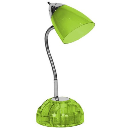 Pharmacy Mounted Task Lamp - Your Zone Organizer Task Lamp, Green