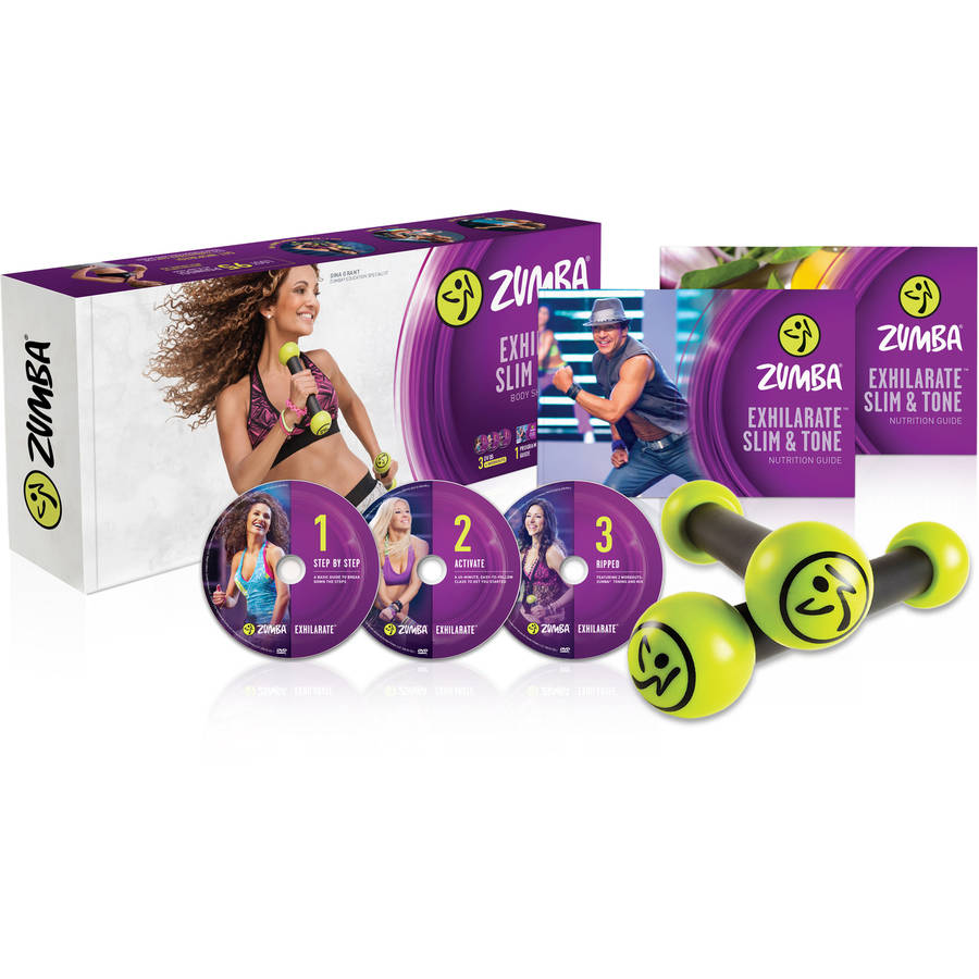 Zumba Exhilarate Slim and Tone DVD System