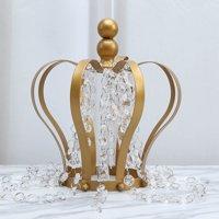Efavormart Princess-Style Acrylic Diamond Garlands - 5 Chains Clear