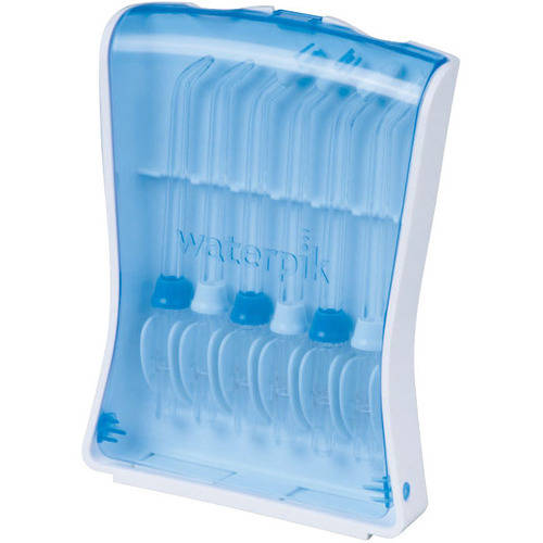 Waterpik Water Flosser Tips and Storage Case, 7 pc