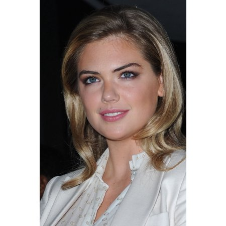 Kate Upton At Arrivals For An Evening Honoring Stella Mccartney Alice Tully Hall At Lincoln Center New York Ny November 13 2014 Photo By Kristin Callahaneverett Collection Photo Print