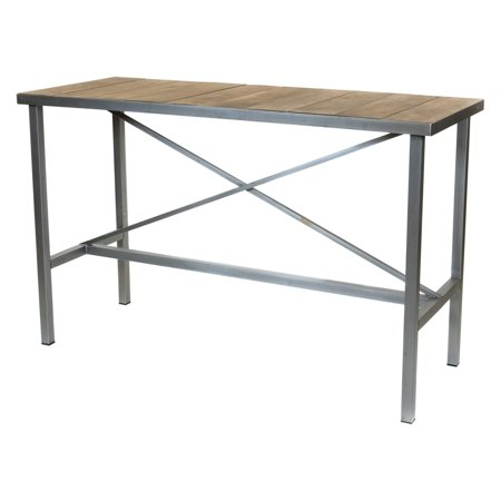Bay Dining Table - REZ Furniture Vintage 63 in. Bar Height Rectangular Dining Table