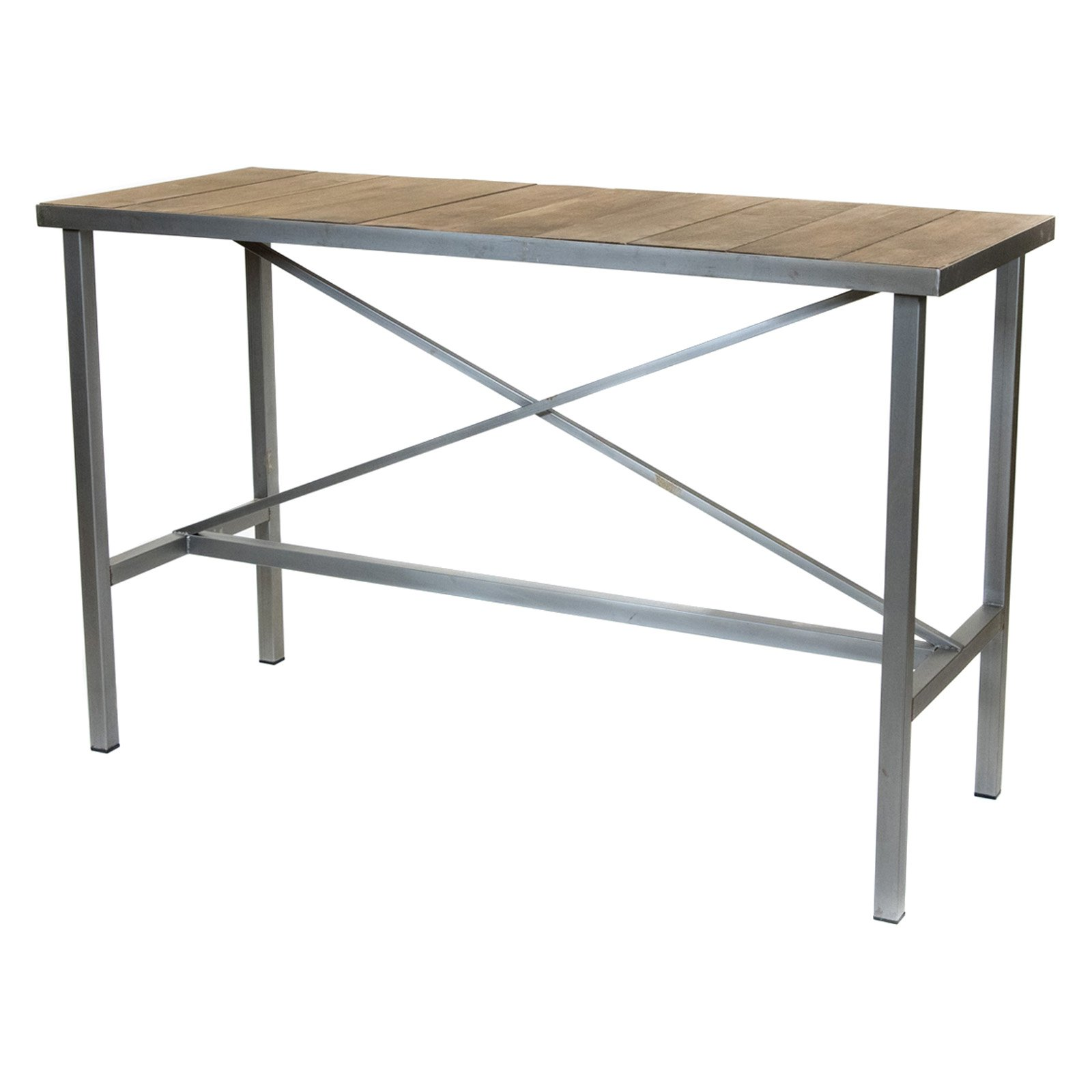 REZ Furniture Vintage 63 in. Bar Height Rectangular Dining Table