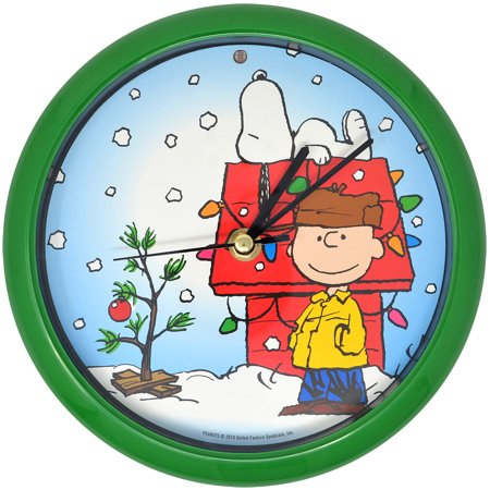 Peanuts Christmas Musical.Peanuts Musical Holiday Clock Plays One Of 12 Christmas Carols Every Hour
