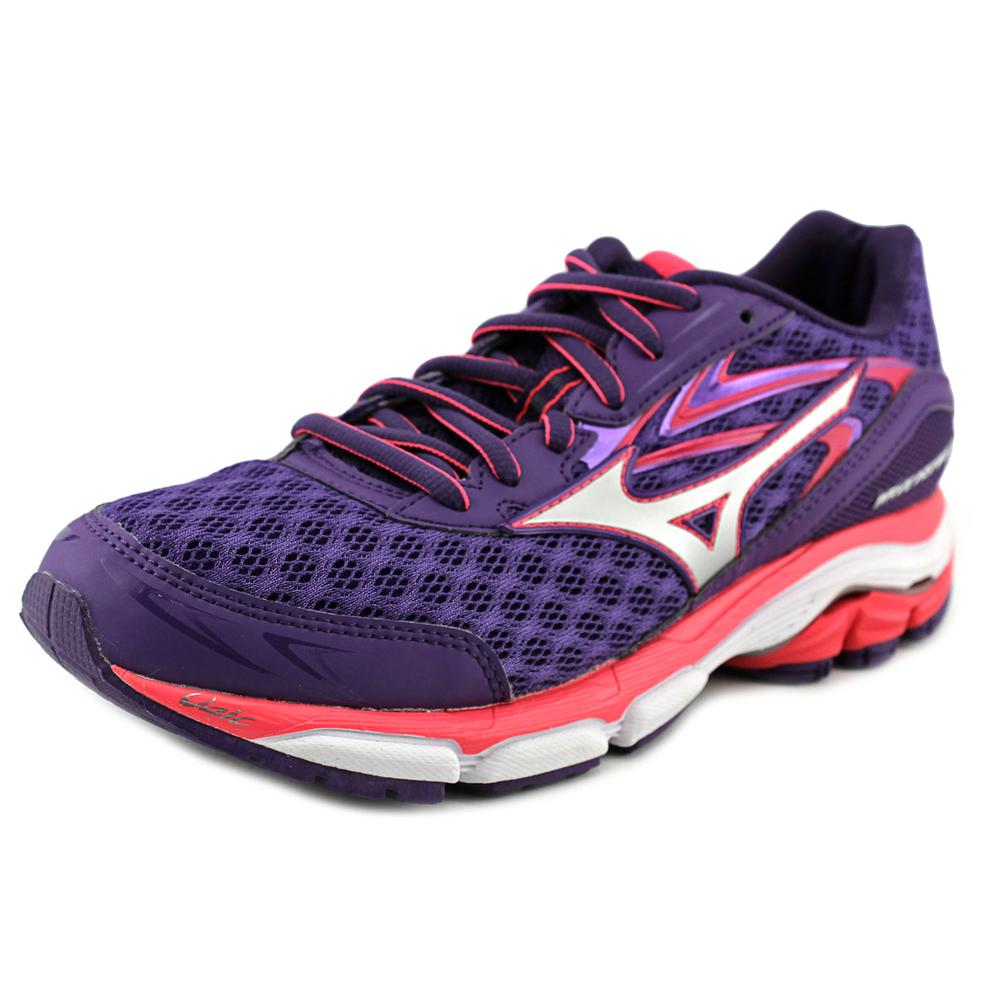 Mizuno Wave Inspire 12 Women 2A Round Toe Synthetic Purple Running Shoe by Mizuno