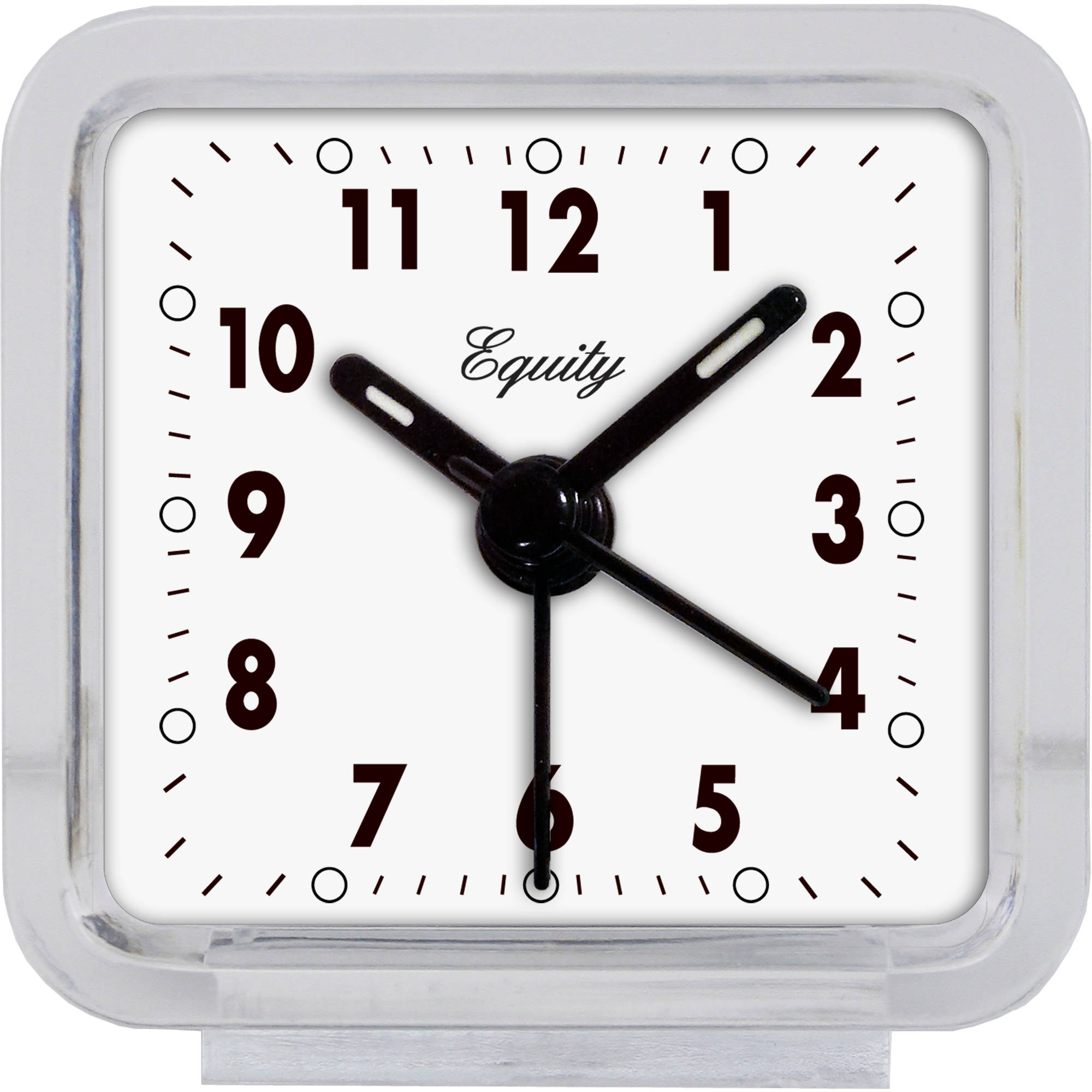 La Crosse Technology Equity Clear Analog Alarm Clock by Equity by La Crosse
