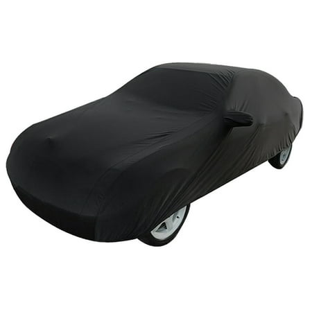 Durable Outdoor Stormproof Waterproof Breathable Black Car Cover For