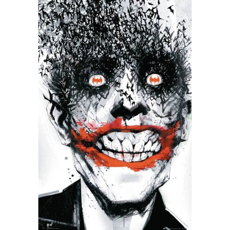 Batman Comic   Joker Bats Poster   24X36