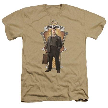 Fantastic Beasts Jacob Kowalski Mens Heather Shirt](Jabot Shirt)