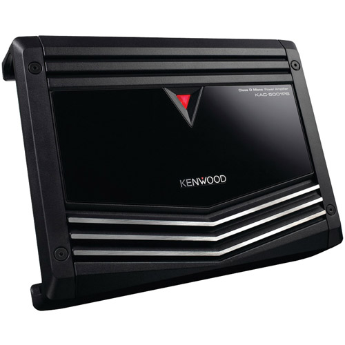 Kenwood KAC-5001PS 1,000-Watt Class D Mono Power Amplifier with LPF