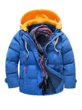 Kids Boys Thick & Warm Long Sleeve Jacket