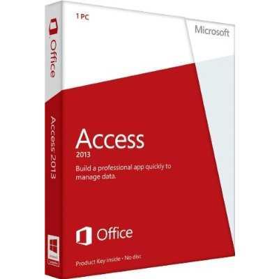 Microsoft Access 2013  Key Card (No Disc)