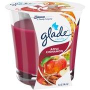 Glade Apple Cinnamon Candle Air Freshener, 3.4 oz