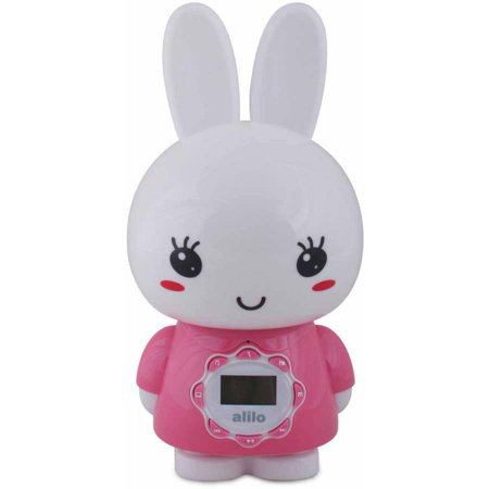 Image of Alilo BIG Bunny with Music and Story Playing Capabilities 4 GB Micro SD Card, Pink