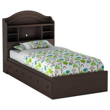 - South Shore Summer Breeze Bookcase Bedroom Collection