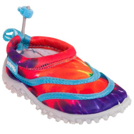 0e1c5f9530b9 Frisky - FRISKY NEW Girls Blue Tie Dye Slip On Aqua Water Shoes ...