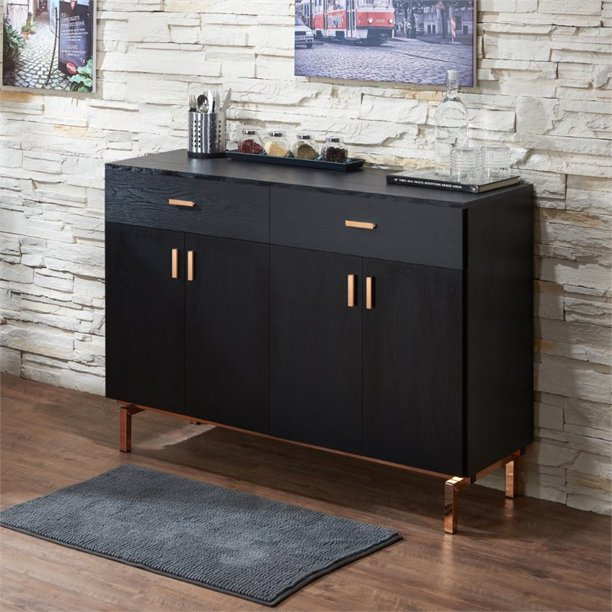 Contemporary 2 Drawer Buffet Table