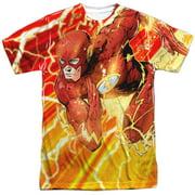 Jla - Lightning Dash - Short Sleeve Shirt - Large