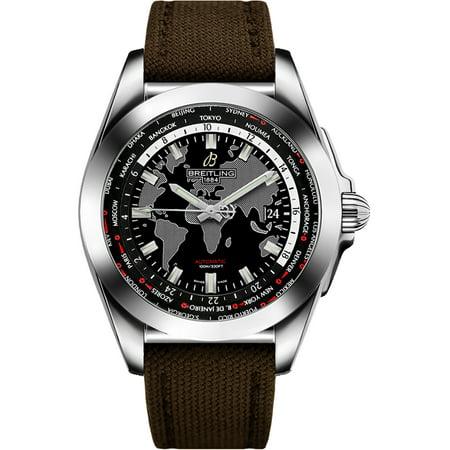Breitling Galactic Unitime Mens Watch WB3510U4/BD94-108W Breitling Galactic Unitime Mens Watch WB3510U4/BD94-108W