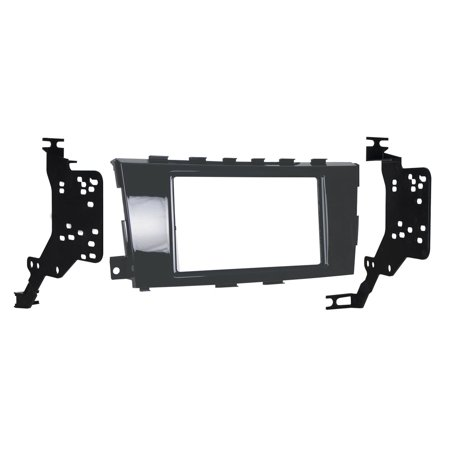 Metra 95-7617GHG Double DIN Dash Kit for Select 2013-Up Nissan Altima Vehicles (Black) Nissan Altima Dash Kit