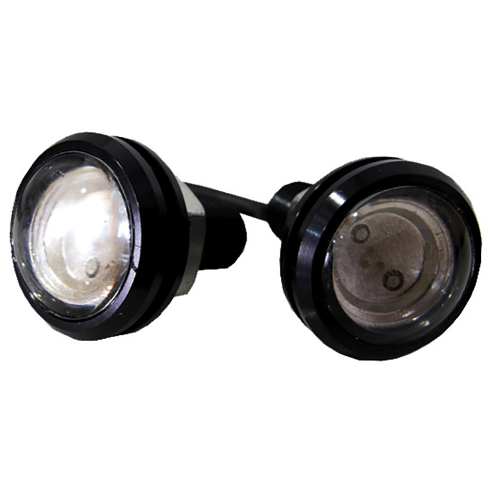 Street Vision SVFEWHITE Focus Eye Custom Hi-Power Led Kit - Pair