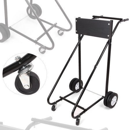 GZYF 315LB Outboard Boat Motor Stand Carrier Cart Dolly Storage Heavy Duty (Outboard Turning Stand)