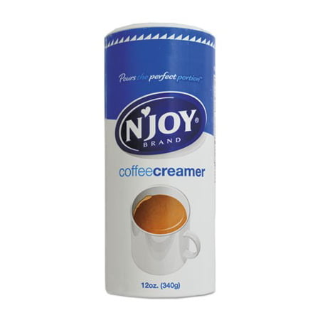(24 Pack) N Joy, Non Dairy Canister Coffee Creamer Pack, 14 (Best Healthy Non Dairy Creamer)