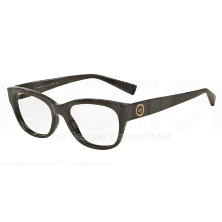 ARMANI EXCHANGE Eyeglasses AX 3026 8159 Brown (Armani Exchange Eyeglasses Frames)