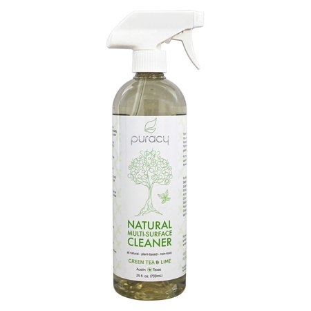 Puracy Green Tea & Lime Natural Multi Surface Cleaner - 25 fl oz