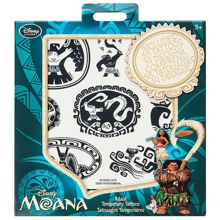 Disney Moana Maui Temporary Tattoos - Walmart.com
