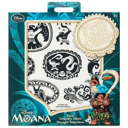Disney moana maui temporary tattoos for Disney temporary tattoos