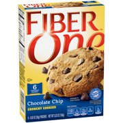 Fiber One Chocolate Chip Crunchy Cookies, 0.92 oz, 6 ct