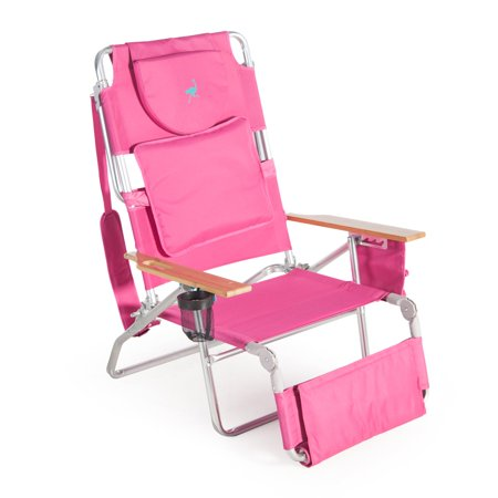 Deluxe Padded Ostrich Sport 3-N-1 Beach Chair ()