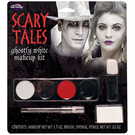 Scary Easy Halloween Makeup (Scary Tales Makeup Kit)