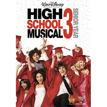 High School Musical 3: Senior Year (DVD) (High School Debut Dvd)