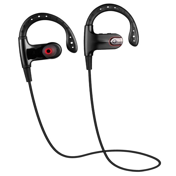 Bluetooth Headphones Stagon Sg 630 Wireless 4 0 Earbuds Stereo Runner Earphones Secure Fit For Sports With Built In Mic Walmart Com Walmart Com