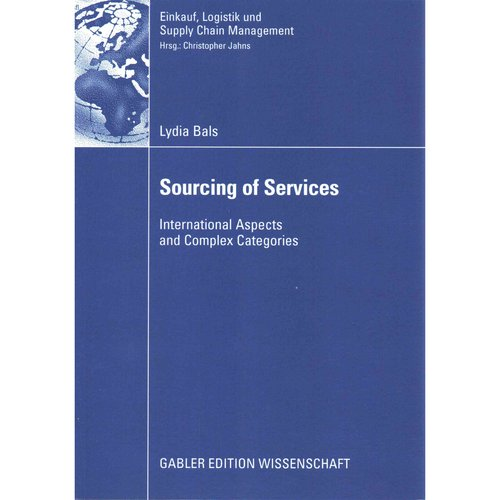 Sourcing of Services: International Aspects and Complex Categories