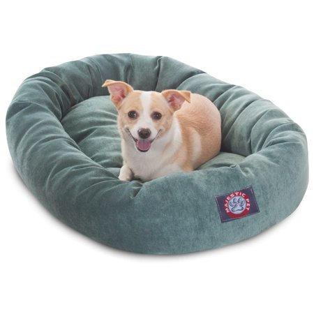 Villa Pot - Majestic Pet Products Villa Velvet Bagel Dog Bed