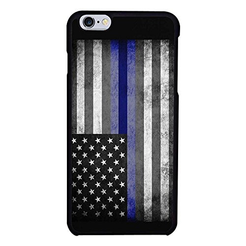 Ganma Thin Blue Line design Case For iPhone 8 (4.7 inch) ,