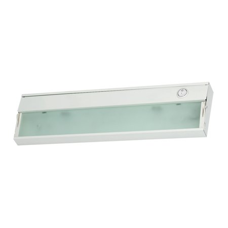 Aurora 1 Light Under Cabinet Light In White - image 1 de 1