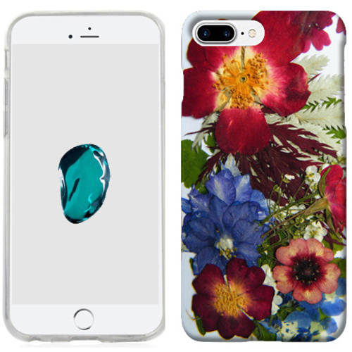 Mundaze Printed Pressed Blossoms Phone Case Cover for Apple iPhone 7 Plus