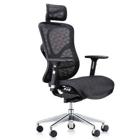 latitude run summer deluxe executive ergonomic mesh office chair