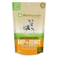 Pet Naturals of Vermont Hip + Joint, Joint Supplement for Medium & Large Dogs, 60 Bite-Sized Chews